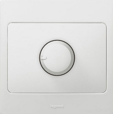 WHITE 500W DIMMER ROTARY