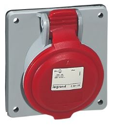 PAN SOCKET 32A 3P+E 415V IP44