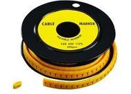 EC-2 Type Cable Marker (Plain Cut), 500 pcs - 1 roll