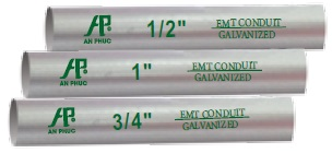 EMT conduit 1/2""