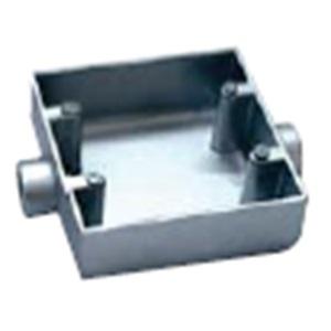 F.S Box 110x110, straight 2 way size 1/2