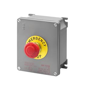 ATEX CASING + EMERGENCY PUSH-BUTTON