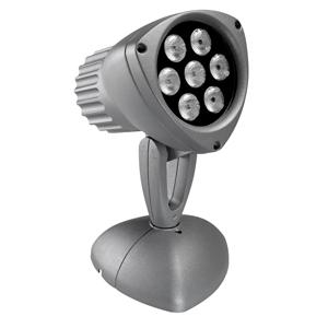 DEDALO LED 7X1W LED B.10° 120/240V GR.