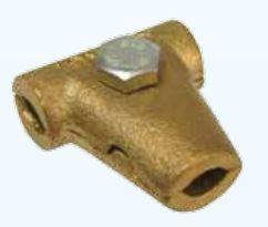 kẹp cáp hình chữ T size 50 - 70 mm2 - hợp kim đồng