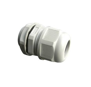 PVC Cable Gland, White Color - PG13.5