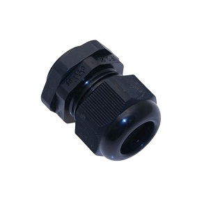 PVC Cable Gland, Black Color - PG48