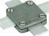Square Tape Support Aluminium Alloy size 25x3mm - Aluminium Alloy