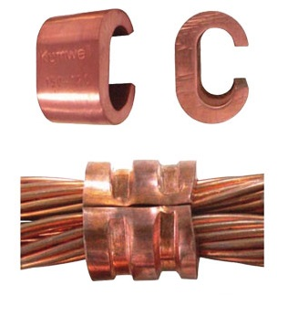 Copper C-Clamp